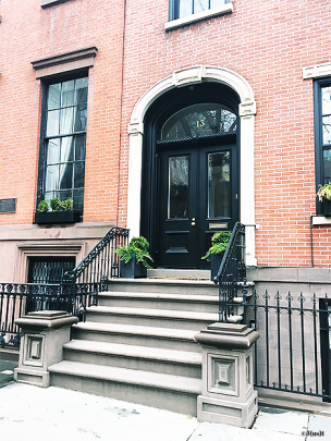 brooklyn-heights-entrée-maison